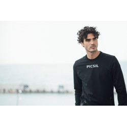 Training Sweat-shirt black CORE for men | PICSIL