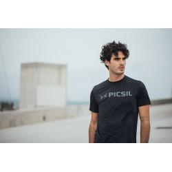 Training T-shirt black CORE EAGLE for men | PICSIL