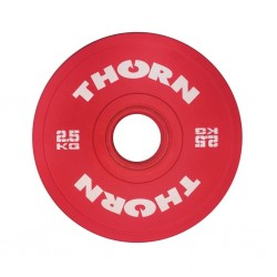 2,5 KG Bumper Plate | THORN+FIT EQUIPMENT