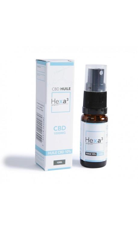 Huile MCT au CBD 10% 10 ml | HEXA3