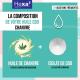 Organic hemp oil with CBD 10% 10 ml bottle | HEXA3
