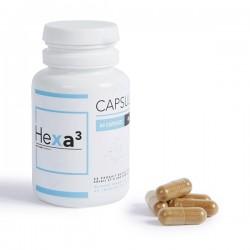 Box of 60 Green Tea 20mg CBD Capsules | HEXA3