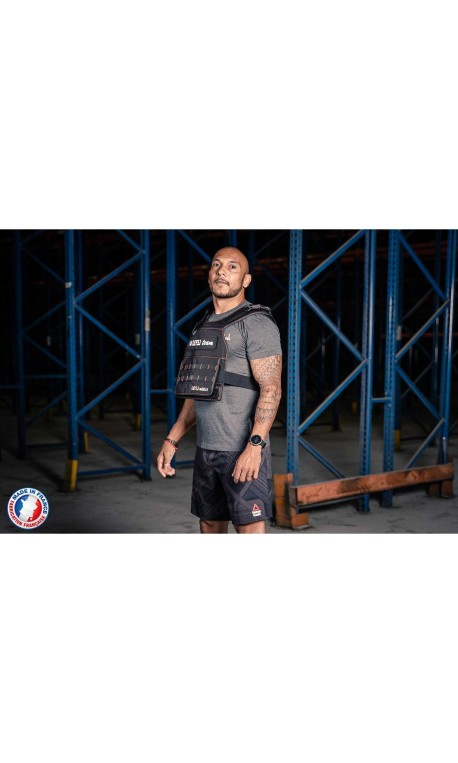 Plate carrier + 18 Kg curved – LEVEL ADDICT