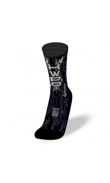 Black workout socks HWPO | LITHE APPAREL