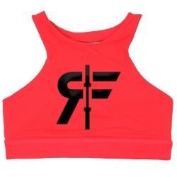 Training bra pink THE LIZZIE for women | ROKFIT