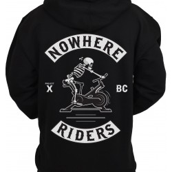 Unisex workout sweat black NOWHERE RIDERS | PROJECT X
