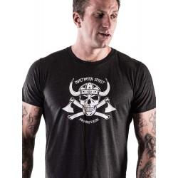 Grossiste T-Shirt sport - Black Viking