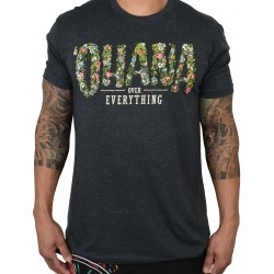 T-shirt grey OHANA OVER EVERYTHING for men   PROJECT X