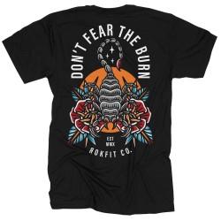 T-shirt black ROK YOUR WOD for men   ROKFIT