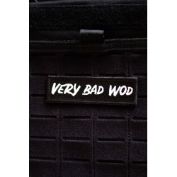 VERY BAD WOD logo 3D PVC velcro patch for athlete | VERY BAD WOD