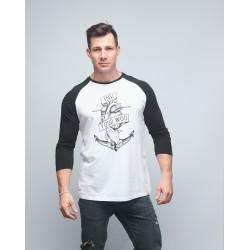 Baseball T-shirt unisexe noir INK YOUR WOD  VERY BAD WOD x WILL LENNART TATOO