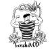 Baseball tee unisex black FRENCH WOD  VERY BAD WOD x WILL LENNART TATOO