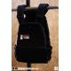 "PVC Velcro patch black n°8 ""SWEAT IRON""  PICSIL"
