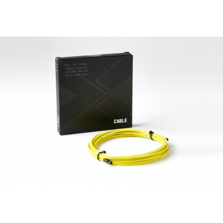 Jump rope yellow 2 mm - 3 m cable   PICSIL