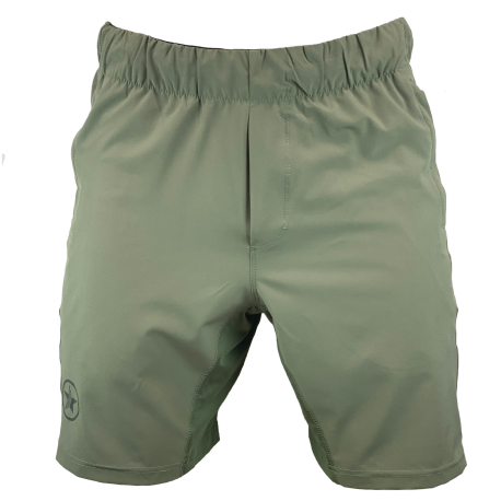 Short khaki green COMPETITION for men | SAVAGE BARBELL