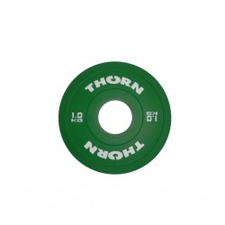 1 KG Bumper Plate | THORN+FIT EQUIPMENT