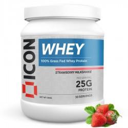 Whey Protéines STRAWBERRY MILKSHAKE - 960 Gr   ICON NUTRITION