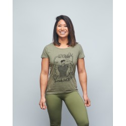 Unisex T-shirt green FRENCH WOD| VERY BAD WOD x WILL LENNART TATOO