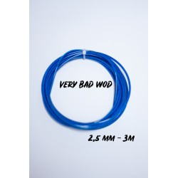 Cable 2,5 mm Bleu 3 m| VERY BAD WOD