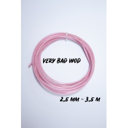Pink cable 2.5 mm and 3.5m | VERY BAD WOD