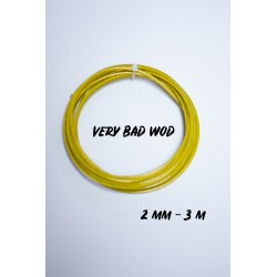 Cable 2,5 mm Jaune 3 m| VERY BAD WOD
