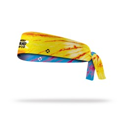 Reversible workout tie headband TIE AND DYE | VERY BAD WOD