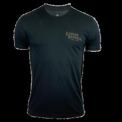 T-Shirt homme noir COBRA   SAVAGE BARBELL