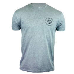 T-Shirt homme gris SAVAGE SOCIETY  SAVAGE BARBELL