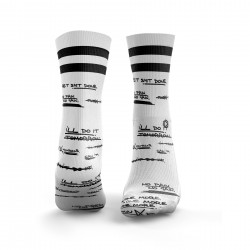 Chaussettes blanches GET SH*T DONE| HEXXEE SOCKS