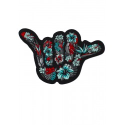 Velcro backing multicolor woven patch S-BISCUS SHAKA | PROJECT X