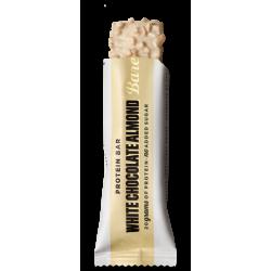 Barre protéinée CHOCOLAT BLANC AMANDES | BAREBELLS