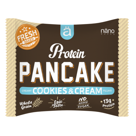 Protein snack pancake COOKIES AND CREAM  NANO SUPPS