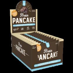 Pack de 12 Pancakes fourrés protéinés COOKIES AND CREAM| NANO SUPPS