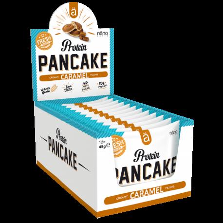 Protein snack pancakes CARAMEL x 12| NANO SUPPS