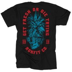 T-Shirt Homme noir GET FRESH OR DIE TRYING | ROKFIT