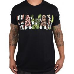 T-Shirt Homme noir HAWAII GRINDZ   PROJECT X