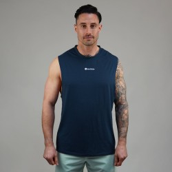 Muscle Tank blue MIDNIGHT for men | WODABLE